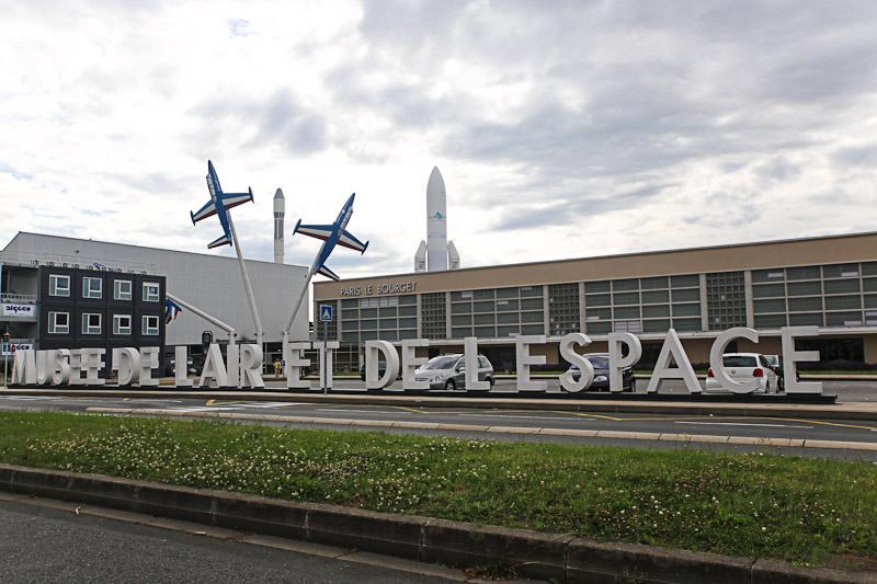 Авиационный музей в Ле-Бурже - место для посещения на арендованном автомобиле