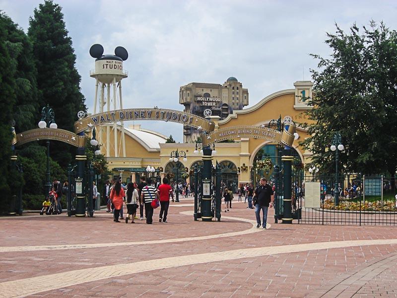Парк развлечений Universal Studios в Париже