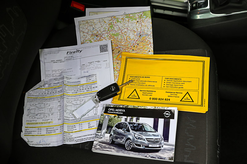 Документы при аренде автомобиля в компании Firefly